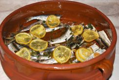 Sardines with Lemon, Puglia, Italy